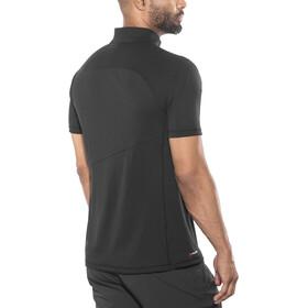 Millet M's Elevation Short Sleeve Zip Shirt black-noir